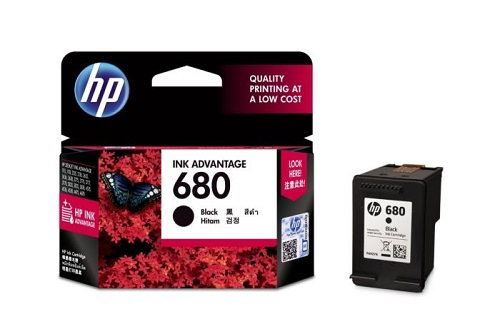 BRAND NEW HP 680 Black Original Ink Advantage Cartridge